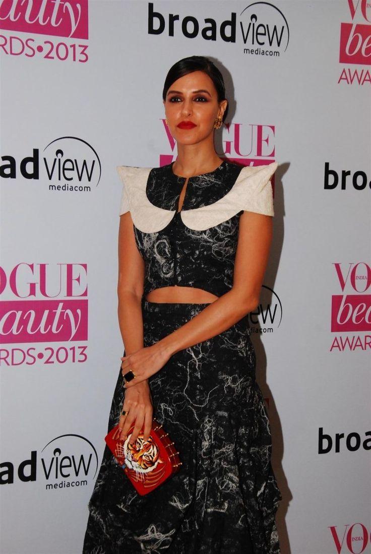 Neha Dhupia at Vogue Awards 2013.