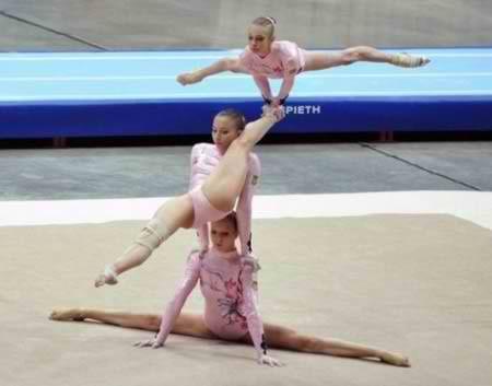 10 Most Amazing Acrobatic Gymnastics