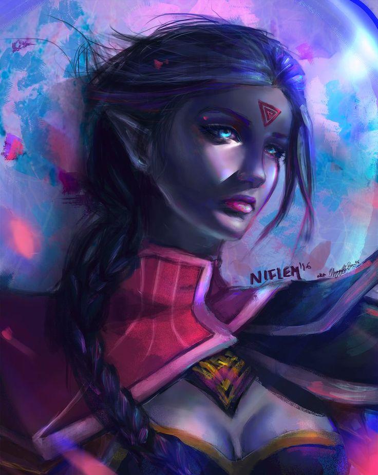 Templar Assassin by Niflem.deviantart.com on @DeviantArt