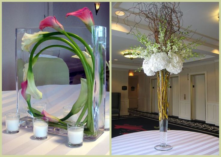 Since Callas Are Really Expensive You Would Probably Not Want A Full Arrangement Of Just Calla Lily CenterpiecesWedding