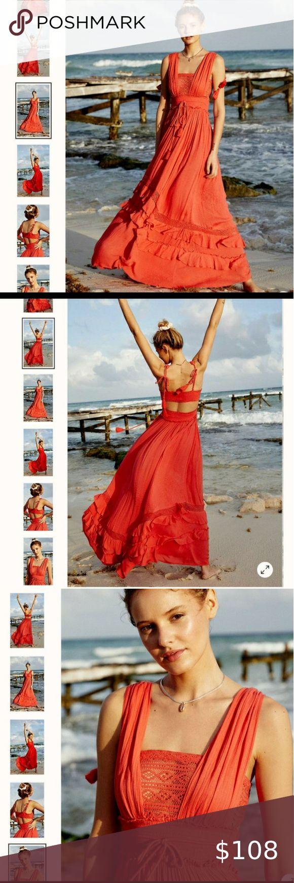 Free People Santa Maria Maxi Dress In 2020 Free People Maxi Dress Maxi Dress Dresses [ 1740 x 580 Pixel ]
