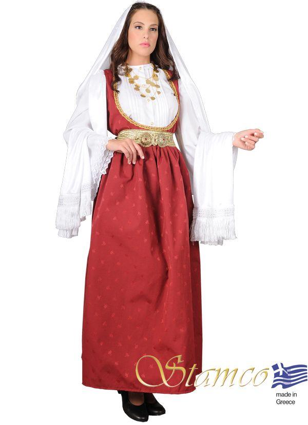 Woman from Samos island - 641309