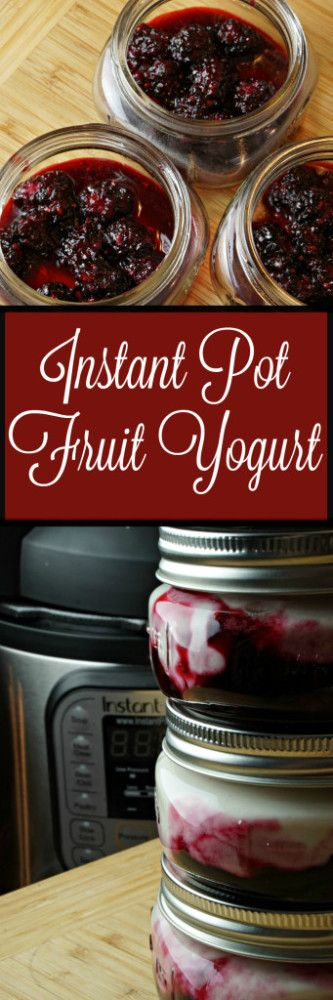 Instant Pot Yogurt - How to make homemade yogurt in your Instant Pot!