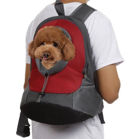 Pet Travel Carrier Dog Cat Portable Head Out Backpack for Bike Hiking Outdoor Image 7 of 8