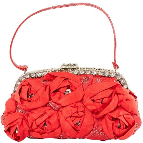 Pre-owned Valentino Clutch Bag ($459) ❤ liked on Polyvore featuring bags, handbags, clutches, red, pre owned handbags, red purse, valentino handbags, preowned handbags and valentino purses