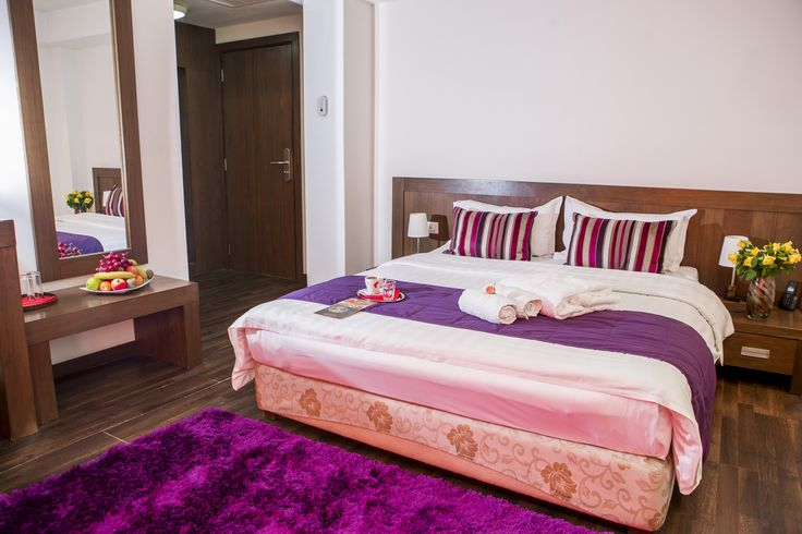 Relax in a comfortable matrimonial bed and enjoy your vacation!