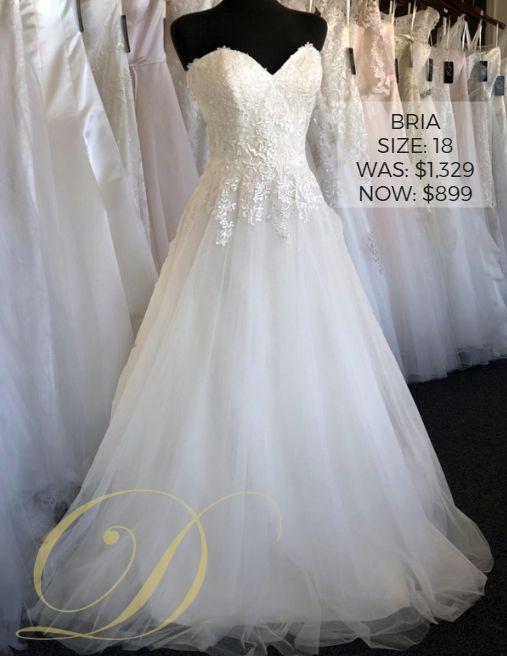 2d21eb88ace Bria Wedding Dress size 18 at Danelle s Bridal Outlet in Pueblo