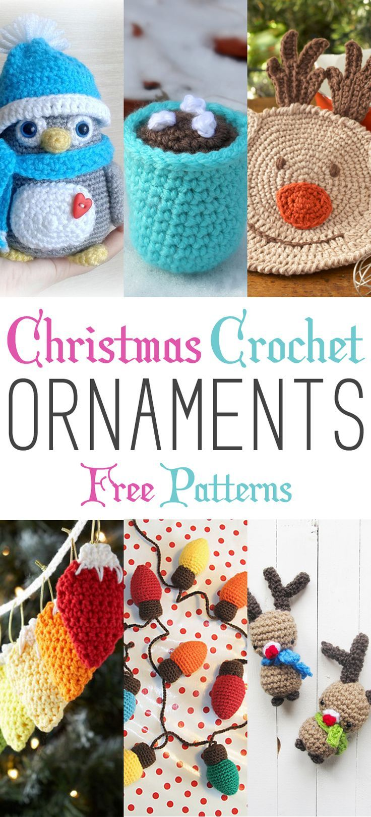 Free Thread Crochet Christmas Ornaments Patterns : Best 25+ Crochet christmas ornaments ideas on Pinterest