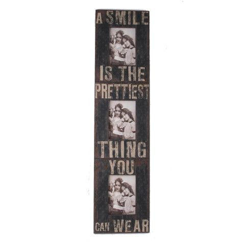 A Smile Is... Multi Photoframe - Amour Decor
