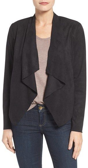 Women's Kut From The Kloth Tayanita Faux Suede Jacket