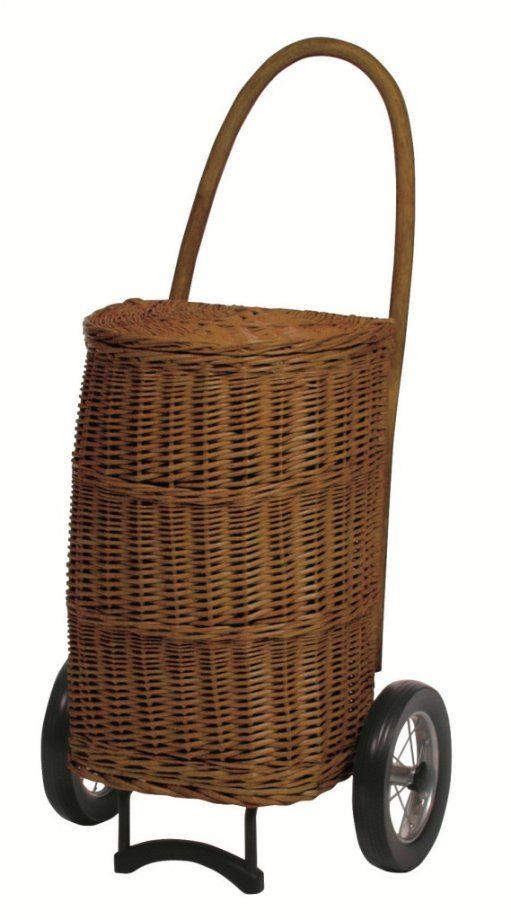 Carrinho de Compras - trolley ANDERSEN KORB Shopper® Natura XXL Terra com a substância dentro