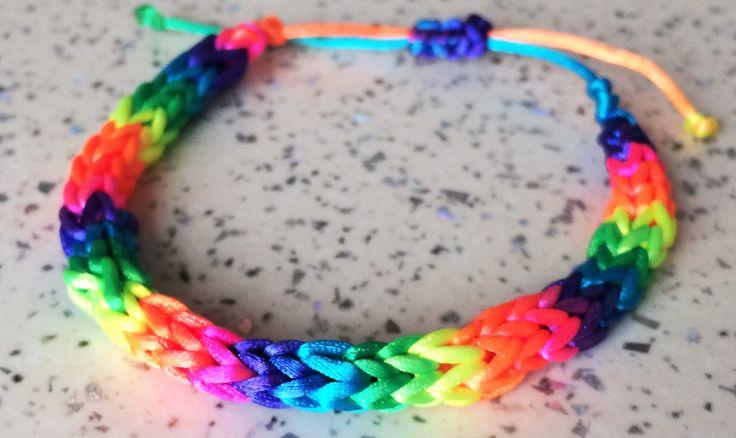 braccialetto fluo