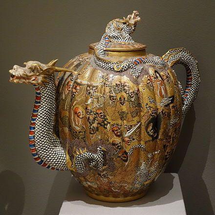 Porcelana de Satsuma - Wikipedia, la enciclopedia libre
