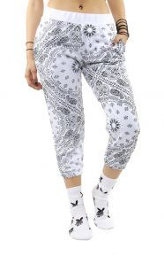 Crooks & Castles Clothing, Squadlife Women's Sweatpant - White
