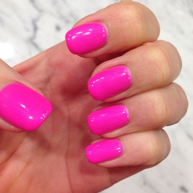 China Glaze- Shocking Pink. Best got pink made. Update: they changed ...