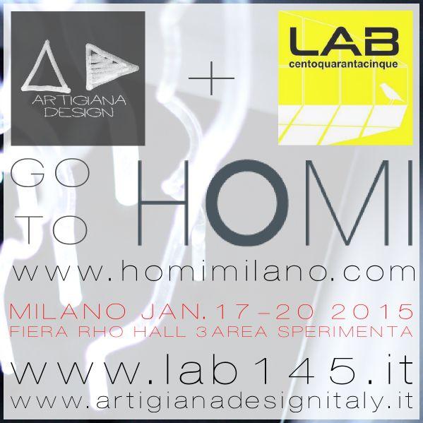 Lab145 Design Factory go to Homi - Hall 3 Area Sperimenta