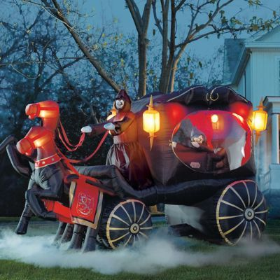 It must be ours! Inflatable Hearse Carriage
