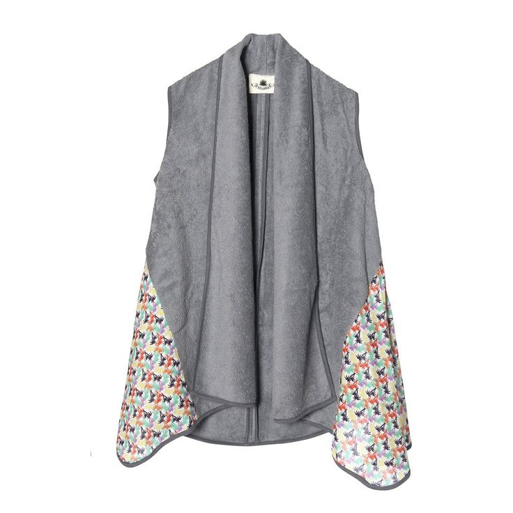 In the Tropics Grey | Lolita Vest - Sun of a Beach