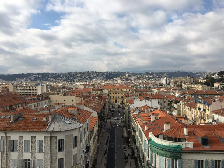 Nice - vieux ville , France  A view from MAMAC rooftop