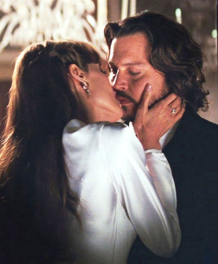 "Angelina Jolie y Johnny Depp en ""The Tourist"", 2010"