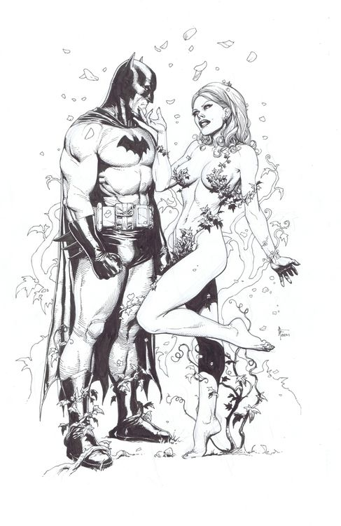 Batman & Poison Ivy by Gary Frank. It's Gary Frank, what else do you need to know?