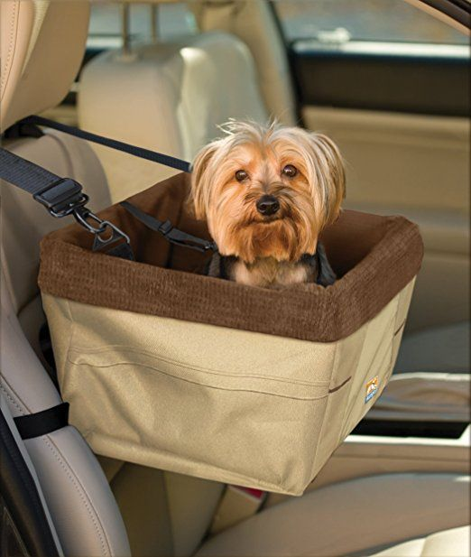 Amazon.com : Kurgo Skybox Dog Booster Seat, Khaki/Brown : Automotive Pet Booster Seats : Pet Supplies