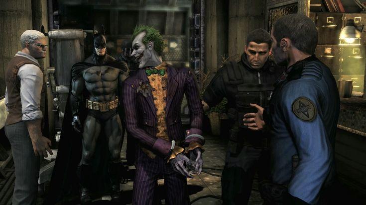 Batman Arkham Asylum Video game Screenshots