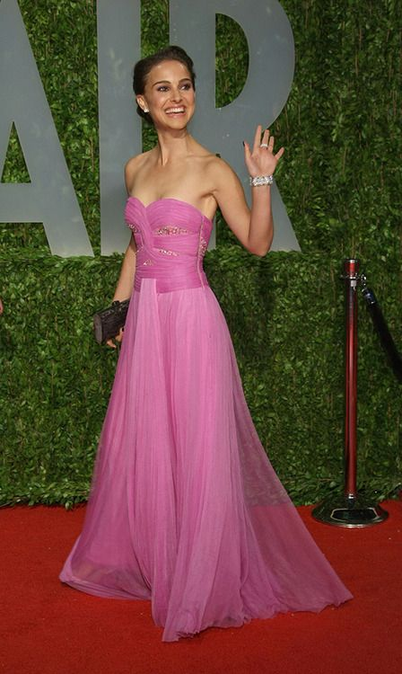 Natalie Portman   Rodarte   Oscars 2009