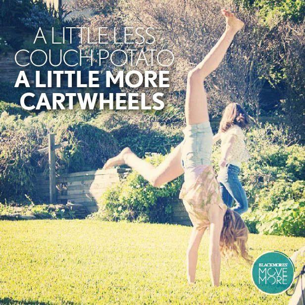 A little more cartwheels