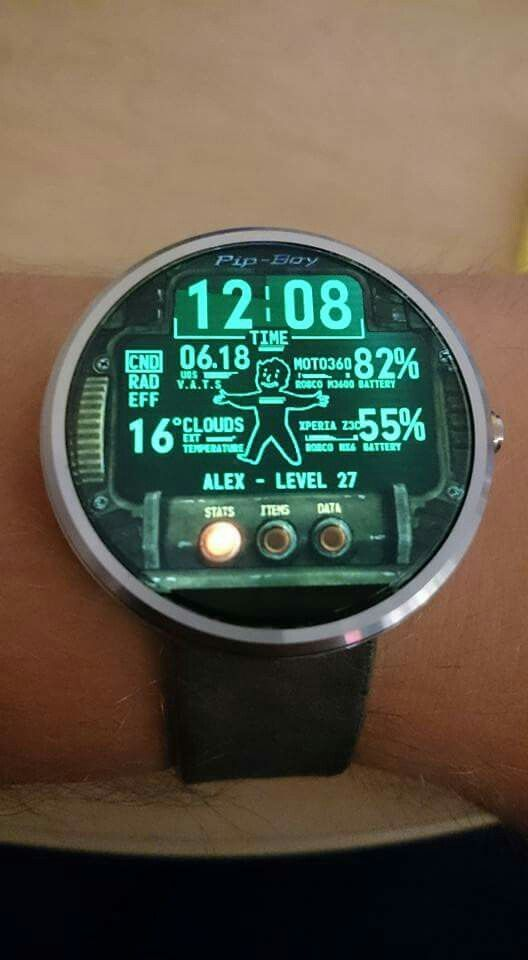 Fallout Pip-Boy Watch