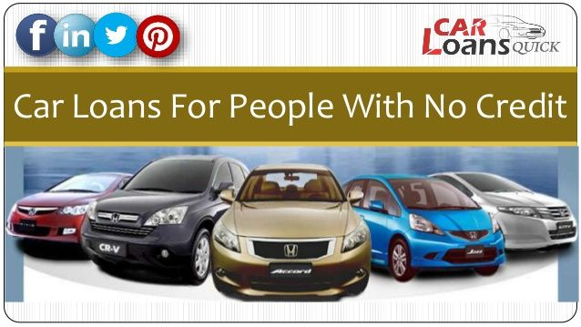 car loans no credit history