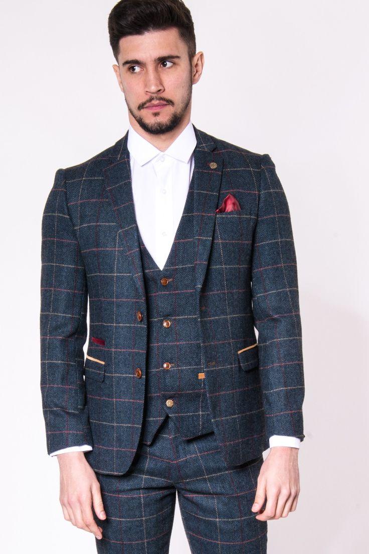 Tweed Blazer | Mens | Heritage | Marc Darcy | Eton Marc Darcy Menswear