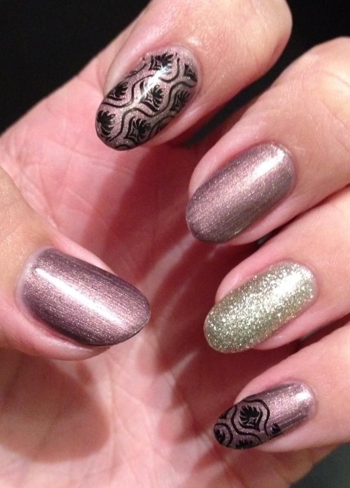 Metallic Variation from https://www.facebook.com/NailIndulgence