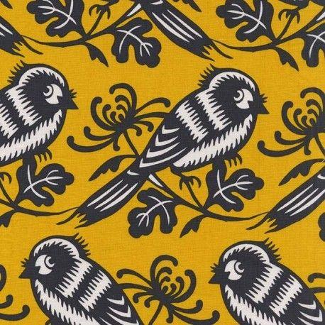 Oiseaux moutarde