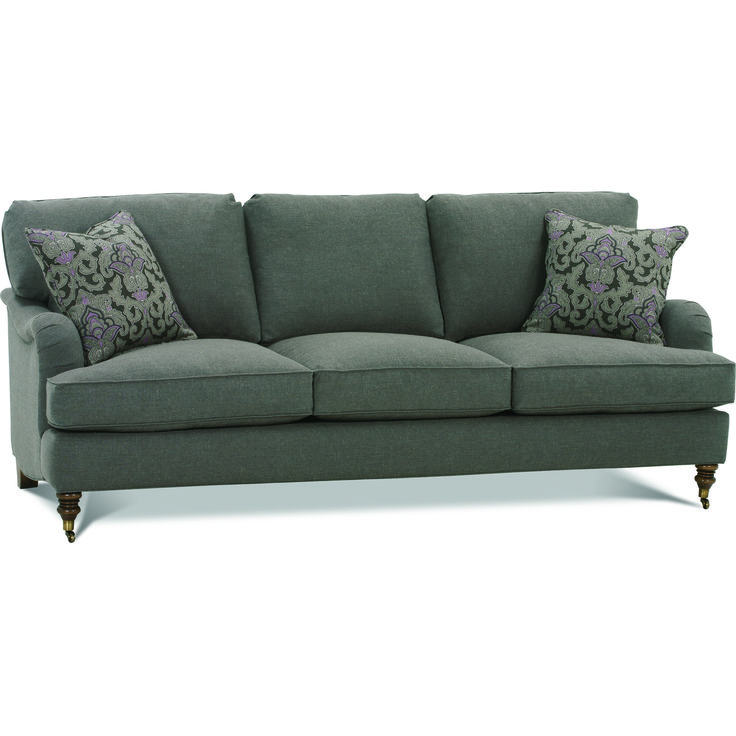 Shop For The RB By Rowe Brooke Sofa With Castered Turned Feet At Belfort  Furniture   Your Washington DC, Northern Virginia, Maryland And Fairfax VA  ...