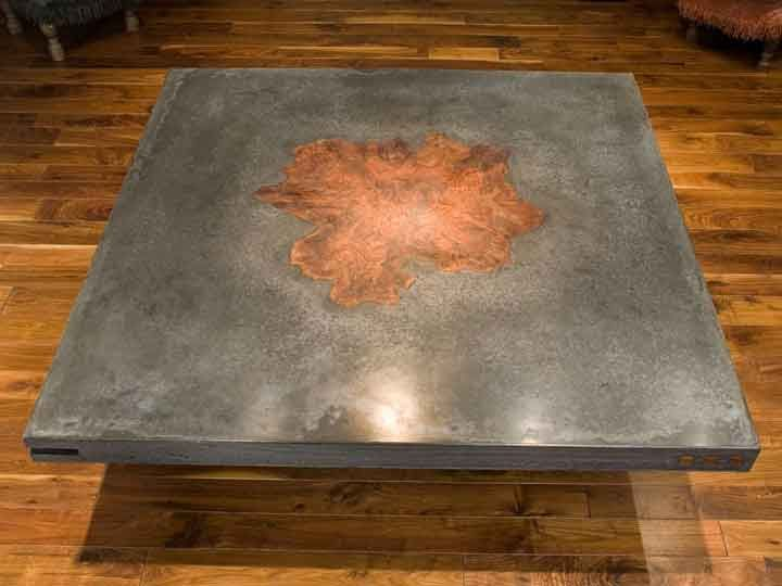 Concrete Table— Best Concrete Furniture Award Winners – CHENG Concrete Circle of Distinction Design Challenge