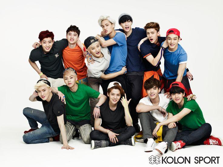 EXOdicted - EXO Fansite: 140521 EXO x Kolon Sport for Instyle Magazine Juni Issue HQ