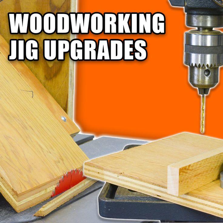 Woodworking Jig Upgrades: Table Saw Miter Jig & Drill Press Fence! #woodworking #DIY #powertools