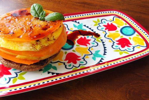 Stacked Heirloom Tomato Slider