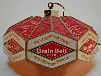 Grain Belt Beer Bar Light Hanging Lamp Fixture Ebay