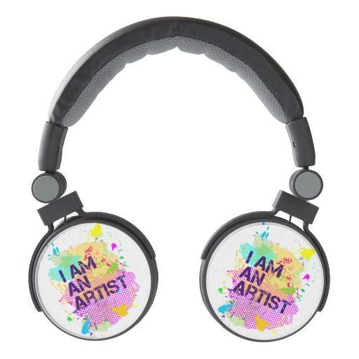 I am an artist  DJ Style Headphones