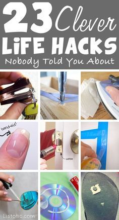 Clever life hacks for everyday problems!! http://book-a-cleaner.co.uk