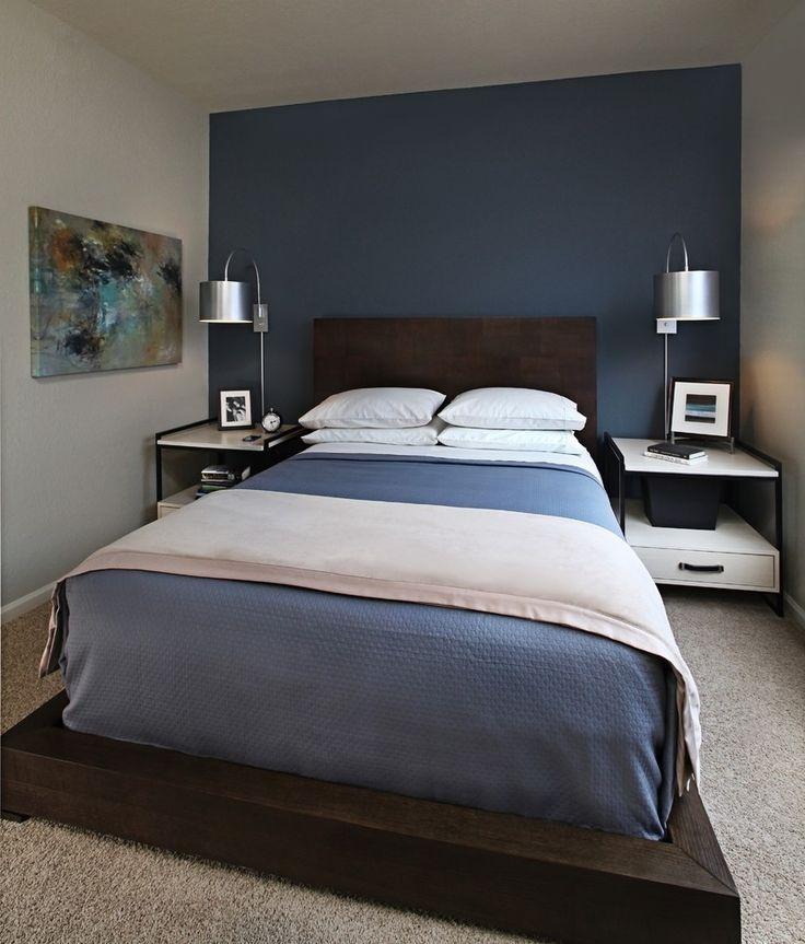 Blue Bedroom For Men 8 best bedroom images on pinterest | bedrooms, live and masculine