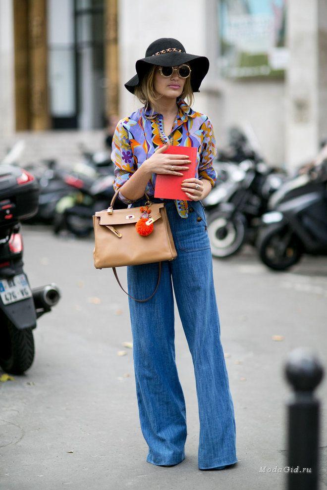 Уличная мода: Неделя высокой моды в Париже осень-зима 2015-2016: уличный стиль хроника