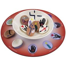 $29.95 Milestones Blessing Bowl and Mat