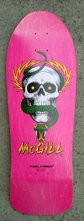 DECK OF THE DAY | POWELL & PERALTA | MIKE McGILL | ART BY VCJ Siiiiiiiiiiiiiick Colorway!