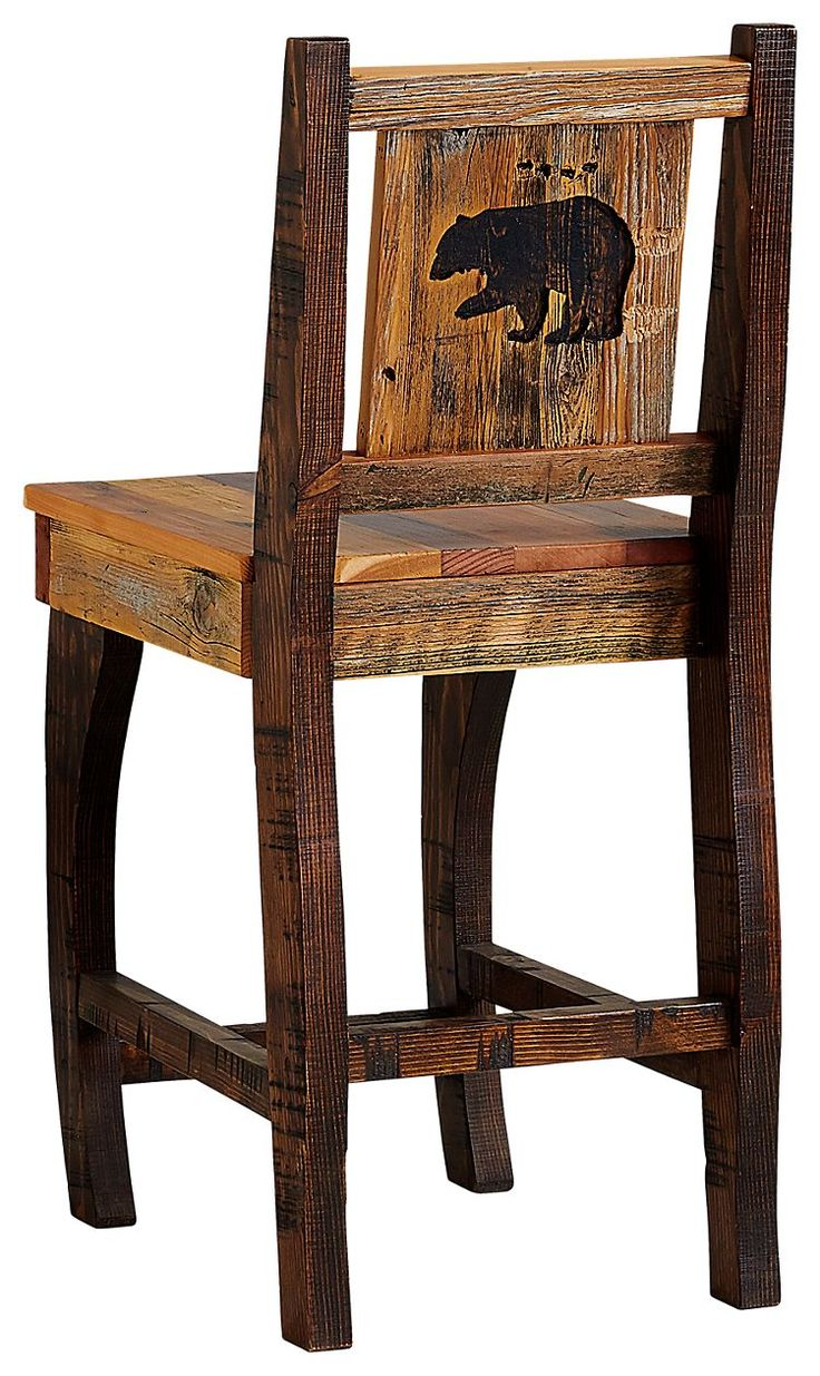 Barnwood Dining Room Furniture Collection Barstool Bear Bass Pro Shops The Best Hunting