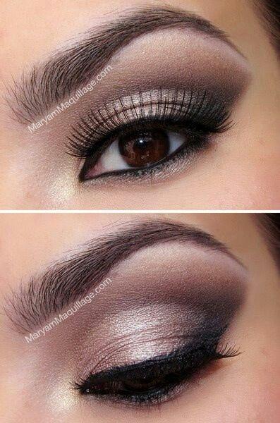 Brown Eye Makeup Tutorial: Nice Make-up For Brown Eyed Girls.