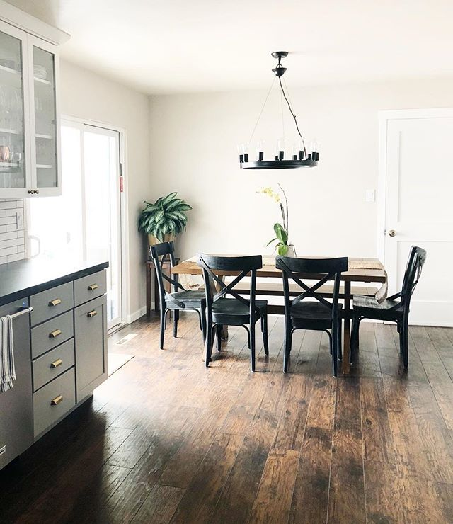 Dream Home Commonwealth Hickory In A Customer S Kitchen