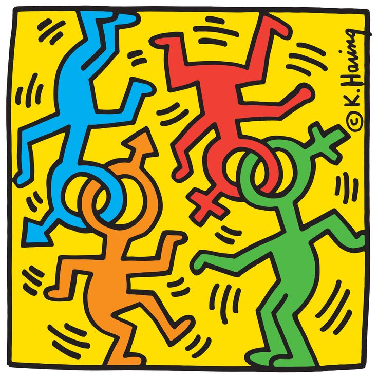 Häufig 337 best keith haring images on Pinterest | Keith haring art  EF59